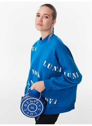 Twist Sweatshirt Mavi